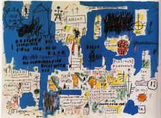 Jean-Michel Basquiat / 낙서 같은 이 그림이 왜 좋냐고 하면 딱히 할 말이 없다. 그럴땐 백지를 주고 이렇게 그릴 수 있냐고 되 물어야지 하하. 창조의 과정은 3인칭 관찰자 시점일 때와 1인칭 시점일 때가 무지무지 다른 법이다.