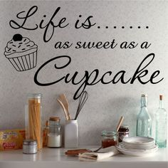 Cupcake Decor For Kitchen Wall - Bing Images