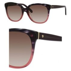 fb5e6ef5c2 Sunglasses Kate Spade Bayleigh S 0W67 Rose Tortoise Fade   B1 warm brown  gradient lens