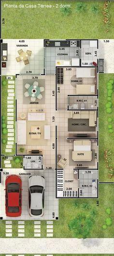 A decoração e arquitetura da casa é uma muito particular e varia de acordo com o gosto de cada um.