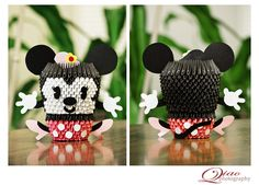 3D Origami – Minnie Mouse