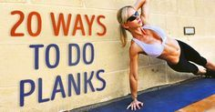 20 superbly effective ways to do plank exercises