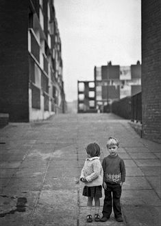 Image by Gerry Smith from Dublin Inner City, Summerhill kids. Old Pictures, Old Photos, Vintage Photos, Dublin City, We Are The World, Dublin Ireland, The Past, Black And White, History