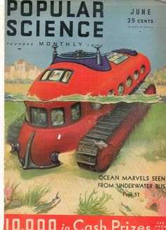 Ptak Science Books: Future Steampunk in the Sea--1930's Popular Science