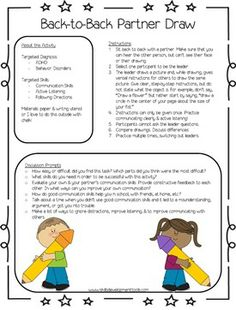 Free worksheets and activities to teach kids social skills and communication skills! Ideas for working with children with ADHD, ODD, and other behavior disorders.