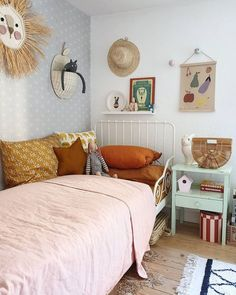 Werbung/AD (Markenverlinkung) Good morning lovelys, sometimes I want to stop the time, always come to this room and make the bed for my… Big Girl Rooms, Boy Room, Nursery Room, Girl Nursery, Parents Room, Diy Furniture Couch, Toddler Rooms, Kids Room Design, Girls Bedroom