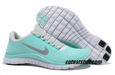 Womens Nike Free 3.0 V4 Tropical Twist Reflective Silver Pro Platinum Shoes $49