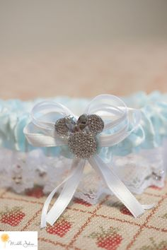 Disney Wedding Garter strawberry farm golf club wedding pictures