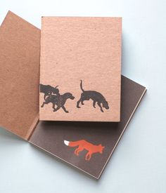 Fox & Hound Notebook - Pack of 2