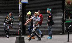 Big Bang, Bad boy mv filming in New York