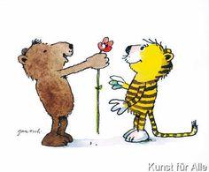 Janosch - Blumengruß