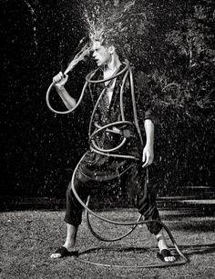 Eaux Claires – Sean O'Pry by Nathaniel Goldberg for Numéro Homme | Nìxí Magazine