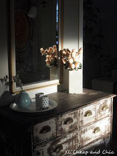 XL Cheap & Chic: Lipaston tuunausta  - Home DIY... Vanity, Chic, Photos, Inspiration, Furniture, Home Decor, Dressing Tables, Shabby Chic, Biblical Inspiration