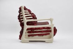 object anatomy: jade t cho surgically revives furniture in 'deconstruction' chair