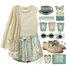 """Vintage"" by child-of-the-tropics on Polyvore"
