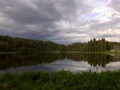 One of the 300+ lakes up on top of the Grand Mesa; world's largest flat topped mountain (Grand Junction, CO area)
