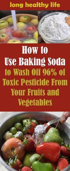 If you are tired of dirty produce, then there is a way to scrub it, and it will help remove grit, pesticides, and whatever else made its way onto the products. #bakingsoda