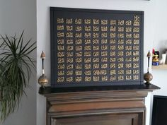 Handcrafted 99 Names of Allah large. by PersonalIslamicGifts