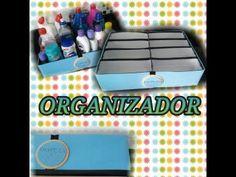 Organizador de Gavetas - Com Caixinhas de Leite - YouTube