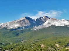 ProTrails | Twin Sisters Trailhead: Twin Sisters Summit Trail, Photo Gallery, Rocky Mountain National Park, Colorado