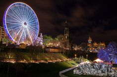 Because all Christmas markets should look like this. | 53 Reasons Living In Edinburgh Ruins You For Life