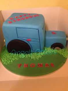 Tractor cake by Angell cakes