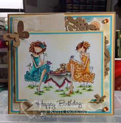 Kerri has Paige & Peggy from Stamping Bella, more details on the blog.