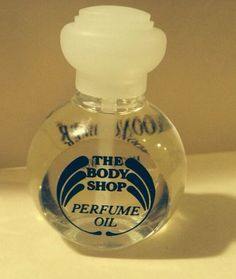 Rare & Discontinued! NEW The Body Shop Moonflower Perfume Oil .5 oz 15 Ml #TheBodyShop