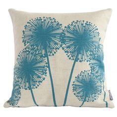 Allium Scottish Linen Cushion - hardtofind.