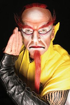 KA by Cirque du Soleil is the greatest theater production the world has ever seen. Only in Las Vegas. Fairy Makeup, Mermaid Makeup, Makeup Art, Sfx Makeup, Fantasy Hair, Fantasy Makeup, Circus Show, Animal Makeup, Special Makeup
