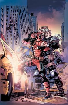 astonishingx:  Back to the Future: Deadpool and Cable by Reilly Brown