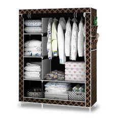 Quần áo tủ Nội Thất Phòng Ngủ armario closet armadio với giày tủ rack 8 màu sắc