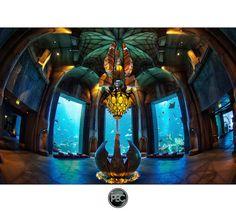 Lost Chambers aquarium Atlantis the Palm - Dubai