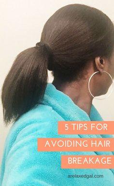 5 Ways To Avoid Relaxed Hair Breakage