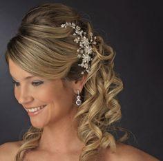 Mooi kapsel voor bruiloft #prom hairtyles