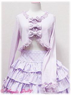 Angelic Pretty » Cutsew & Knit » Triple Ribbon Bolero