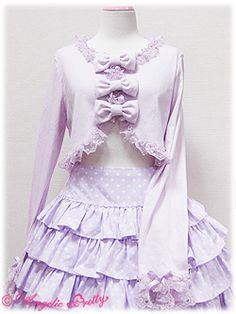 Angelic Pretty » Cutsew & Knit » Triple Ribbon Bolero