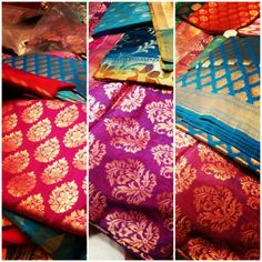 Sari fabric to give away to the lady guests, like they do in india.