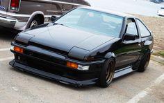 1986 Toyota Trueno AE86. My boyfriend would love this