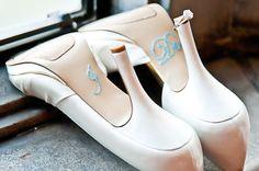 BLUE I Do Wedding Shoe Rhinestone Applique by MonAmourBoutique, $10.00