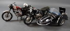 Franklin Mint Diecast Motorcycles Harley