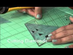 Jaybird Quilts Sidekick Ruler Video Tutorial by Julie Herman - YouTube