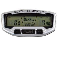 "Sunding 2.8"" LCD Electronic Bike Bicycle Computer Speedometer Bottle Bag, Water Bottle, Electronic Bike, Bike Accessories, Biking, Horn, Helmet, Gloves, Bicycle"