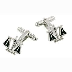 Scales of Justice Cuff Links...I am getting these for James when he graduates from Law School