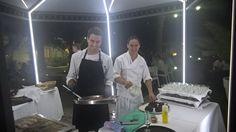 Cocina bajo las estrellas. #restaurantes #Zaragoza