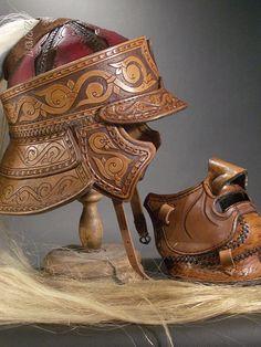 Leather armor on Behance