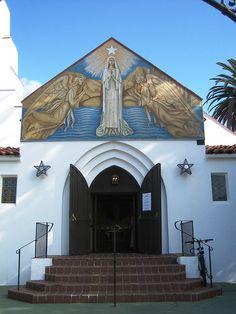 Mary Star of the Sea Catholic Church, La Jolla, California