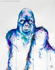 gorilla art