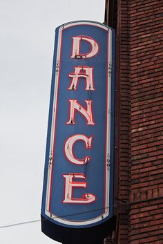 Neon Dance Sign for the Crystal Ballroom in Downtown Portland, Oregon | Flickr - Photo Sharing!