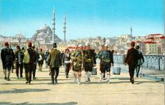 galata bridge 1909-April -haci bekir